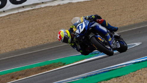 Dominique Aegerter, Ten Kate Racing Yamaha, Jerez FP2