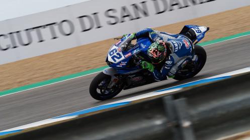 Stefano Manzi, GMT94 Yamaha, Jerez FP2