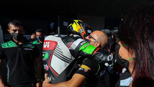 Philipp Oettl, Kawasaki Puccetti Racing, Jerez Tissot Superpole