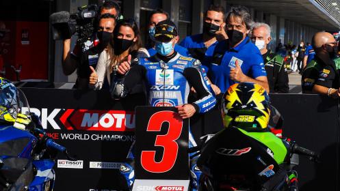 Federico Caricasulo, Biblion Iberica Yamaha Motorxracing, Jerez Tissot Superpole