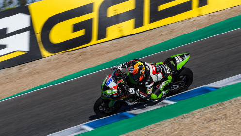 Phillip Oettl, Kawasaki Pucetti Racing, Jerez Superpole
