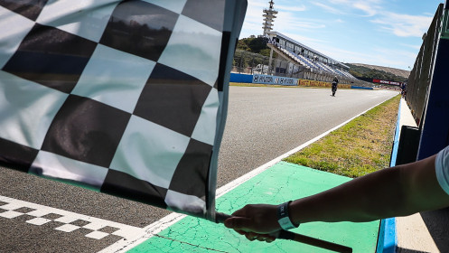 Dominique Aegerter, Ten Kate Racing Yamaha, Jerez RACE