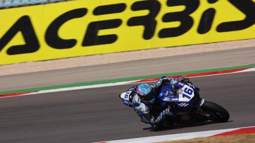 Jules Cluzel, GMT94 Yamaha, Portimao FP1