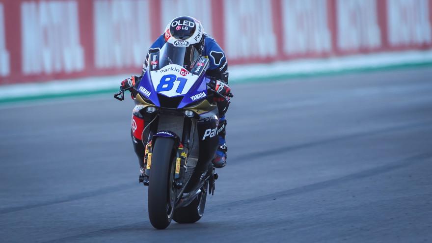 Manuel Gonzalez, Yamaha ParkinGo Team, Portimao FP2