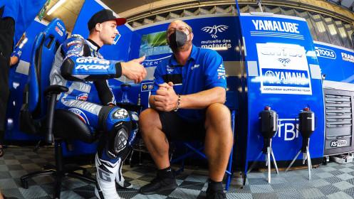 Jules Cluzel, GMT94 Yamaha, Portimao FP2