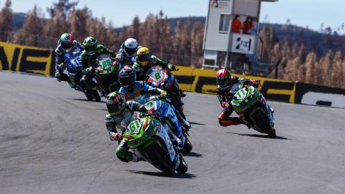 Yuta Okaya, MTM Kawasaki, Portimao RACE 1