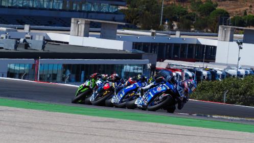 Jules Cluzel, GMT94 Yamaha, Portimao RACE 1