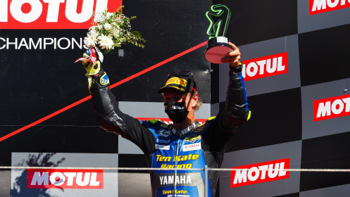 Dominique Aegerter, Ten Kate Racing Yamaha, Portimao RACE 1