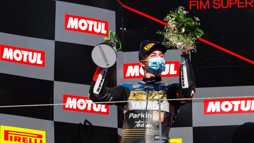 Manuel Gonzalez, Yamaha ParkinGo Team, Portimao RACE 1