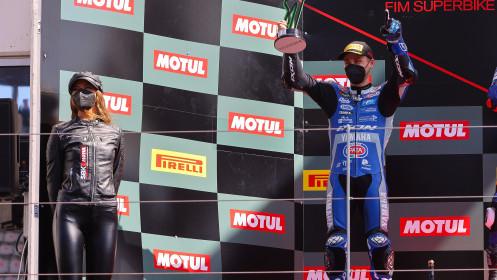 Jules Cluzel, GMT94 Yamaha, Portimao RACE 2