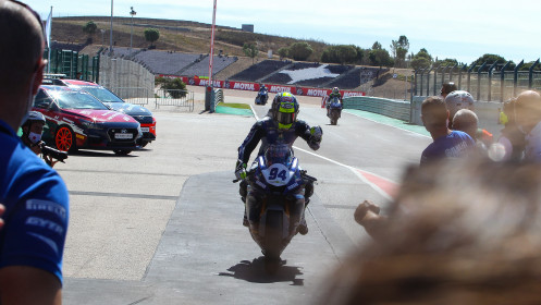 Federico Caricasulo, Biblion Iberica Yamaha Motorxracing, Portimao RACE 2