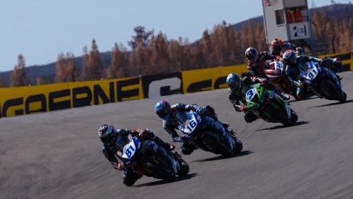 Manuel Gonzalez, Yamaha ParkinGo Team, Portimao RACE 2