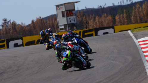 Can Alexander Oncu, Kawasaki Puccetti Racing, Portimao RACE 2
